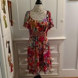 Ice multi colored dress Sz 14